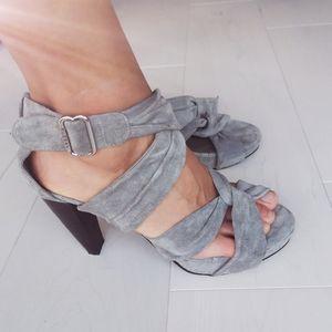 Rudsak suede high heels sandals
